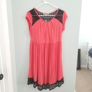 NWT Black and Pink Maternity Dress